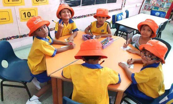 Khalsa Kindergarten class photo
